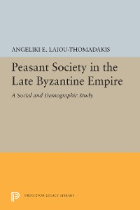 Cover Peasant Society in the Late Byzantine Empire