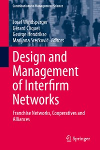 Cover Design and Management of Interfirm Networks