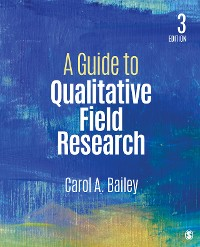 Cover A Guide to Qualitative Field Research