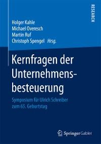 Cover Kernfragen der Unternehmensbesteuerung