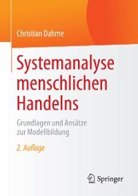 Cover Systemanalyse menschlichen Handelns