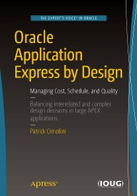 Cover Oracle Application Express by Design