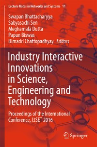Cover Industry Interactive Innovations in Science, Engineering and Technology