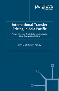 Cover International Transfer Pricing in Asia Pacific