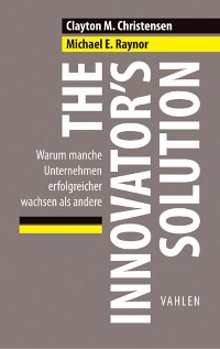 Cover The Innovator's Solution