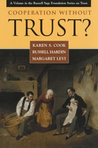 Cover Cooperation Without Trust?