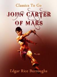 Cover John Carter of Mars