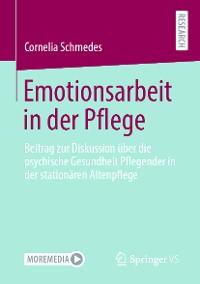 Cover Emotionsarbeit in der Pflege
