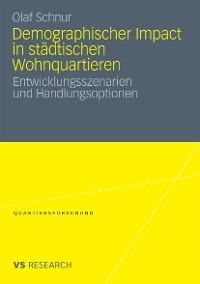 Cover Demographischer Impact in städtischen Wohnquartieren