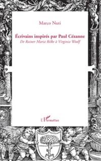 Cover Ecrivains inspires par paul cezanne - de rainer maria rilke