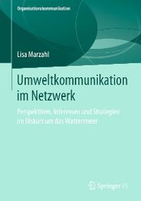 Cover Umweltkommunikation im Netzwerk