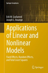 Cover Applications of Linear and Nonlinear Models