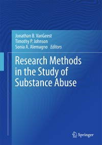 Cover Research Methods in the Study of Substance Abuse