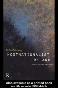 Cover Postnationalist Ireland
