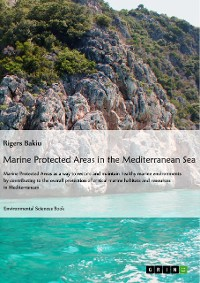 Cover Marine protected areas in the Mediterranean Sea