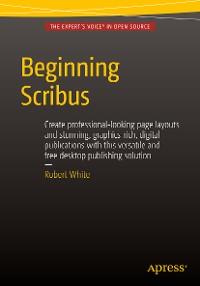 Cover Beginning Scribus