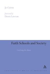 Cover Faith Schools and Society