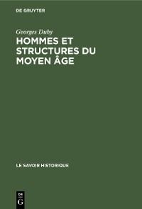 Cover Hommes et structures du moyen âge