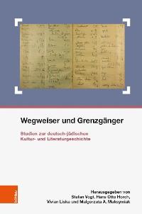 Cover Wegweiser und Grenzgänger