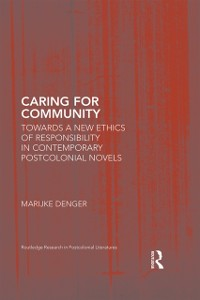 Cover Caring for Community