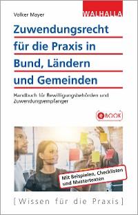 Cover Zuwendungsrecht für die Praxis in Bund, Ländern und Gemeinden