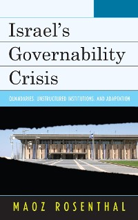 Cover Israel's Governability Crisis