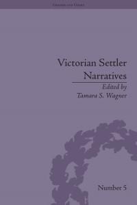 Cover Victorian Settler Narratives