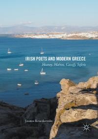 Cover Irish Poets and Modern Greece