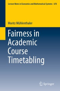 Cover Fairness in Academic Course Timetabling