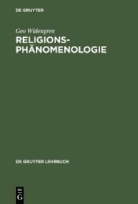 Cover Religionsphänomenologie