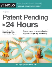 Cover Patent Pending in 24 Hours