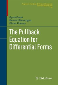 Cover The Pullback Equation for Differential Forms