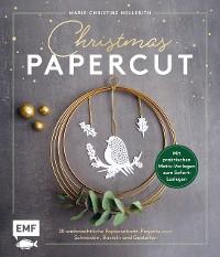 Cover Christmas Papercut – Weihnachtliche Papierschnitt-Projekte zum Schneiden, Basteln und Gestalten