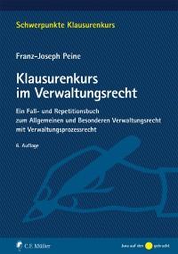 Cover Klausurenkurs im Verwaltungsrecht