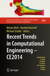 Cover Recent Trends in Computational Engineering - CE2014