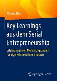 Cover Key Learnings aus dem Serial Entrepreneurship
