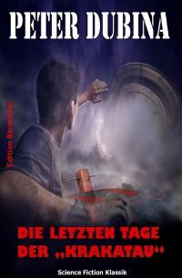"""Cover Die letzten Tage der """"Krakatau"""""""