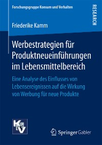 Cover Werbestrategien für Produktneueinführungen im Lebensmittelbereich