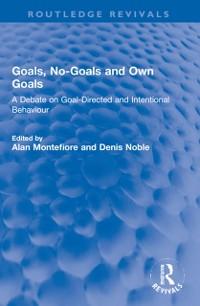 Cover Goals, No-Goals and Own Goals