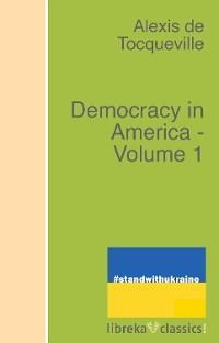 Cover Democracy in America - Volume 1
