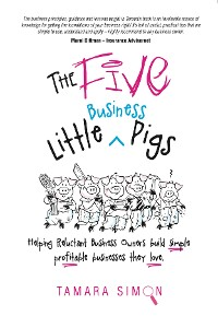 Cover The Five Little Business Pigs
