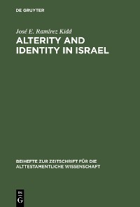 Cover Alterity and Identity in Israel