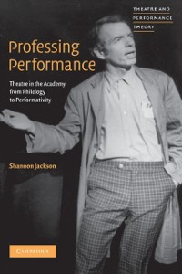 Cover Professing Performance