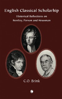 Cover English Classical Scholarship