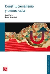 Cover Constitucionalismo y democracia
