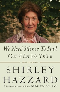 Cover We Need Silence to Find Out What We Think