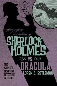 Cover Sherlock Holmes vs. Dracula