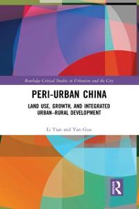 Cover Peri-Urban China