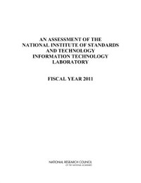 Cover Assessment of the National Institute of Standards and Technology Information Technology Laboratory