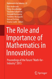Cover The Role and Importance of Mathematics in Innovation